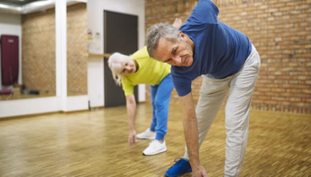 Cvičenie so seniormi
