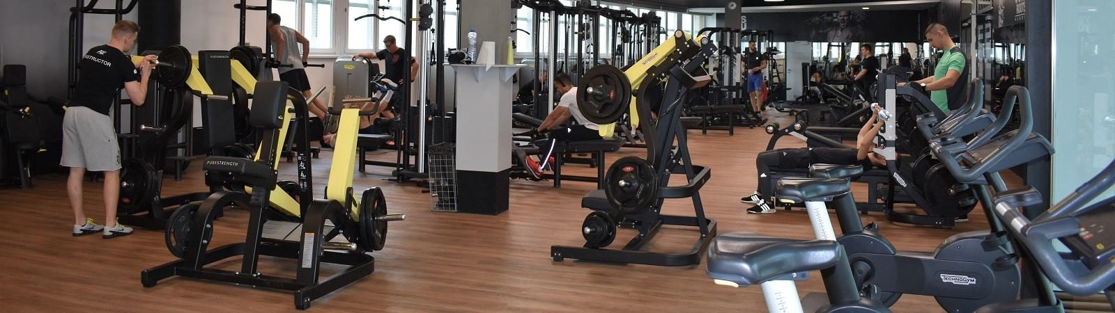 Fitness Centrum | Posilňovňa | Fitko | Bratislava | Golem - Aupark